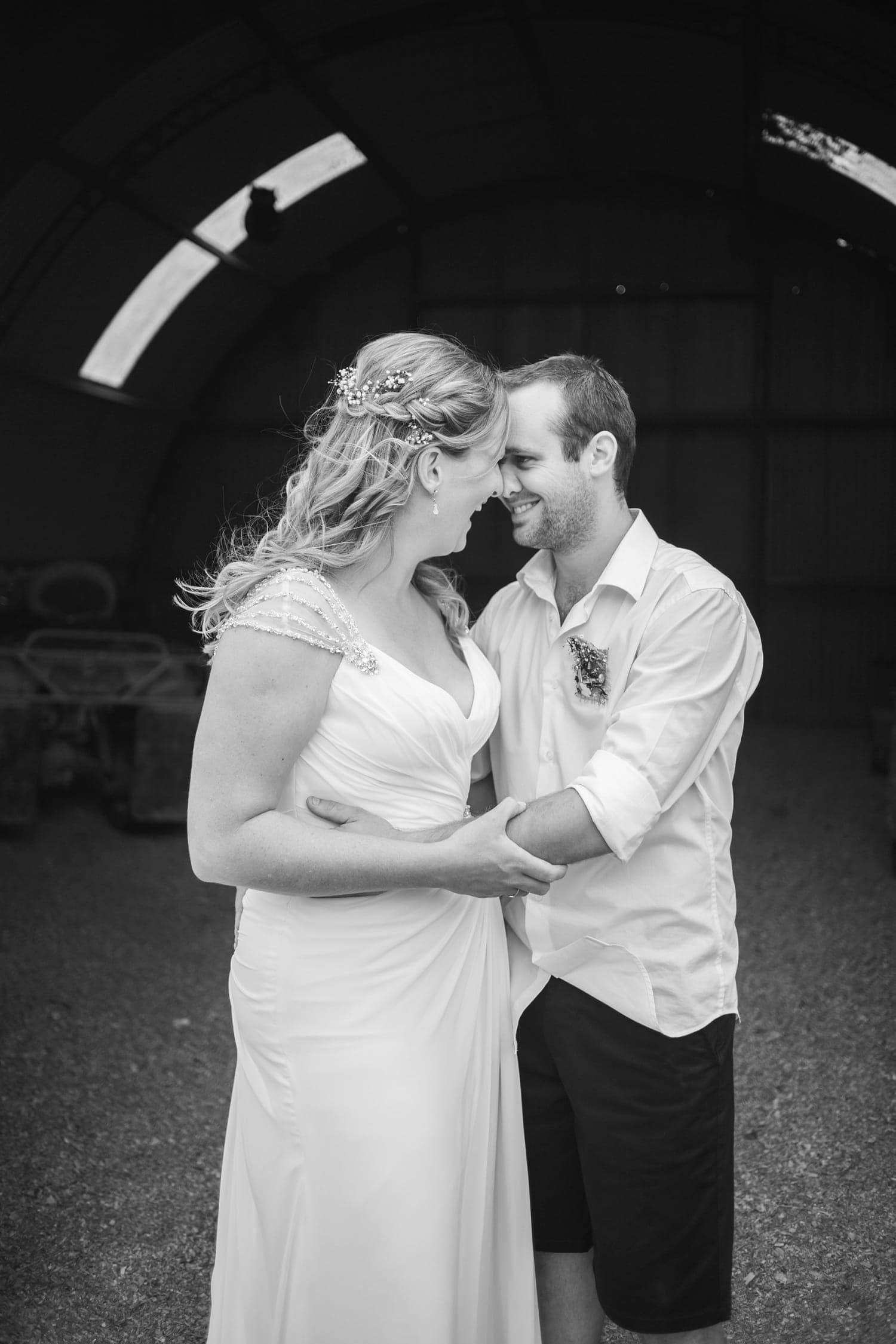 Kierra and Dan's Whangamata Beach and Farm Wedding