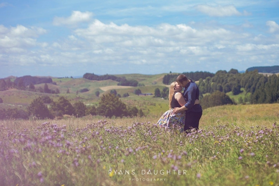 Zoe and Ryan's Piopio Engagement Session