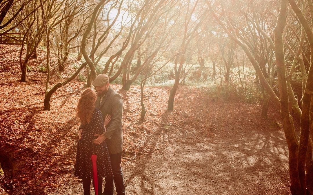 Taitua Arboretum Photos – Dom and Josh's Romantic Forest engagement session
